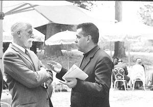Renzo Gandolfo con Giuliano Gasca Queirazza